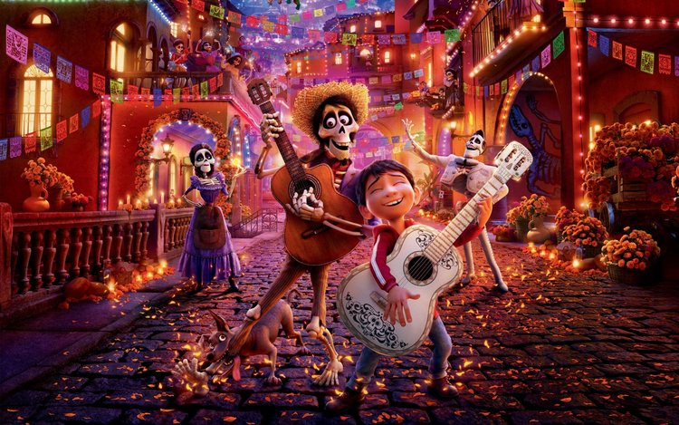 Coco HD wallpapers Pixar Animation Movie 2
