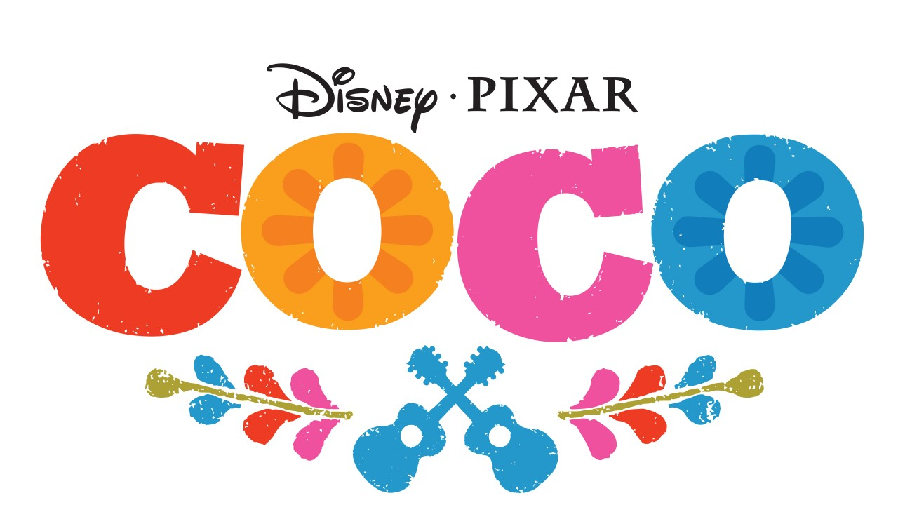 Disney Pixar Coco Movie Logo Background