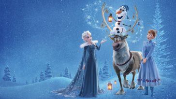 Olafs frozen adventure 2017 Movie HD wallpaper-2560x1600
