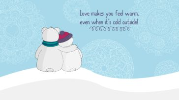 Love makes you warm wallpaper-2560x1440