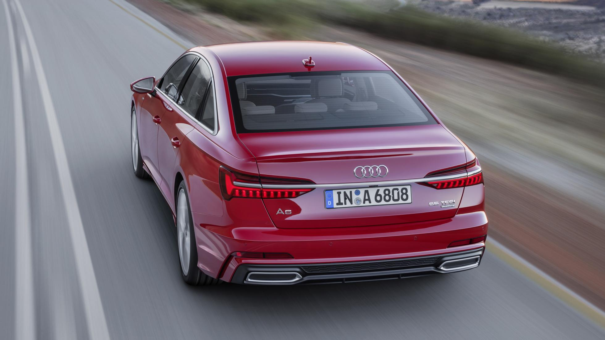 Audi A6 Saloon Wallpaper HD For Your Desktop