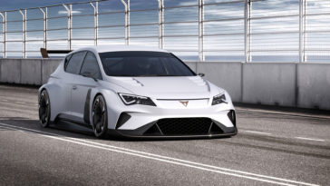 Cupra e-Racer wallpaper background 1