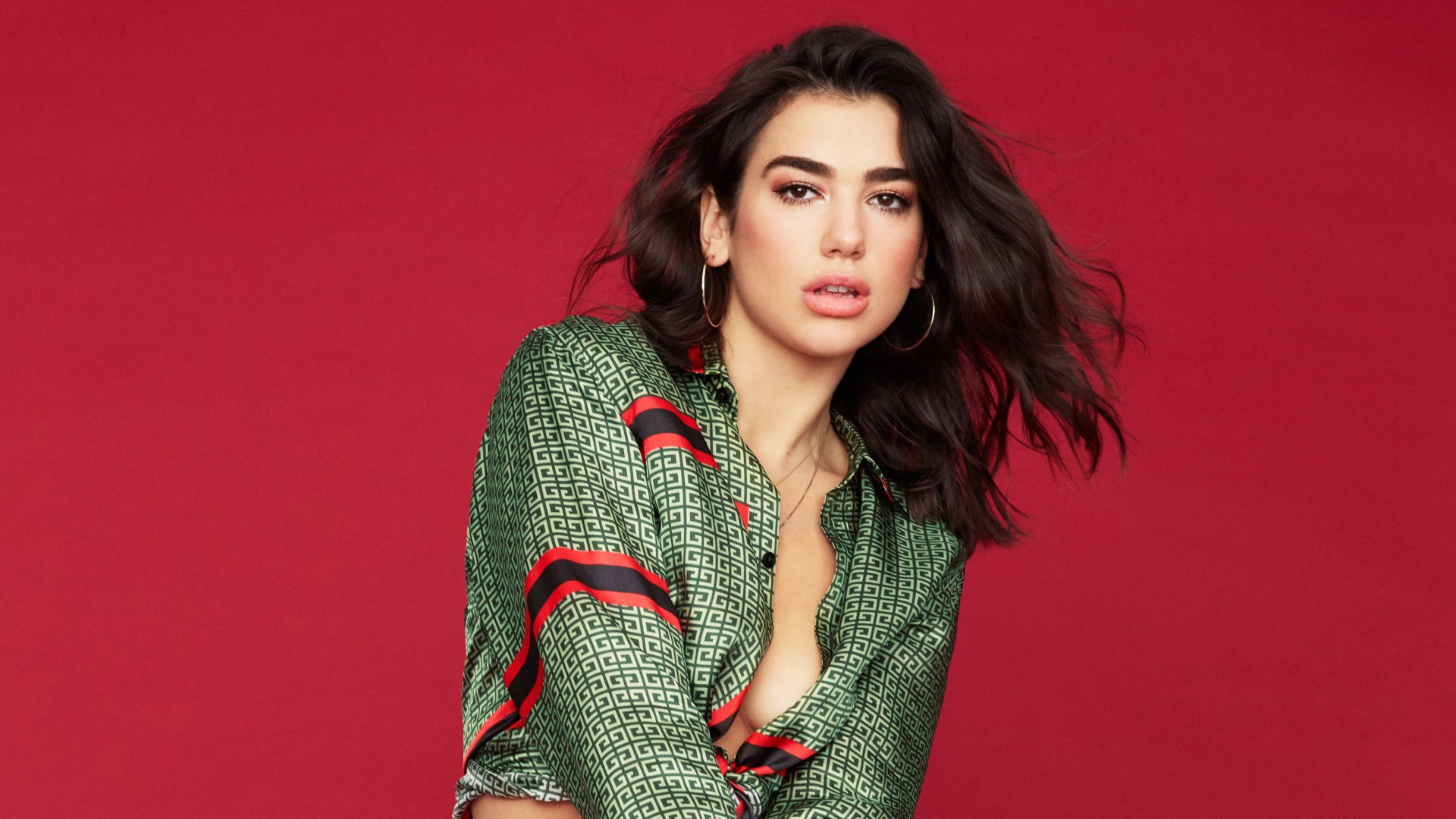 Dua Lipa Hot Background Image
