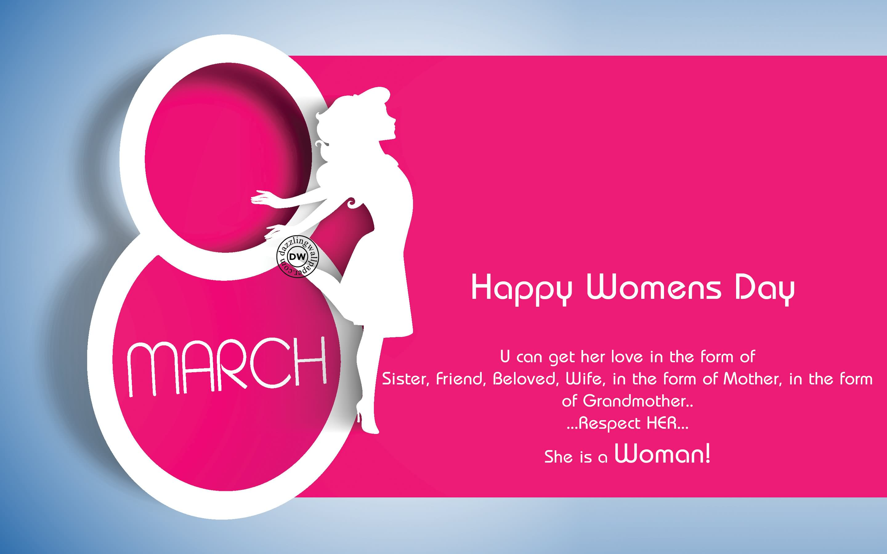 Happy Women's Day Wallpapers Quotes