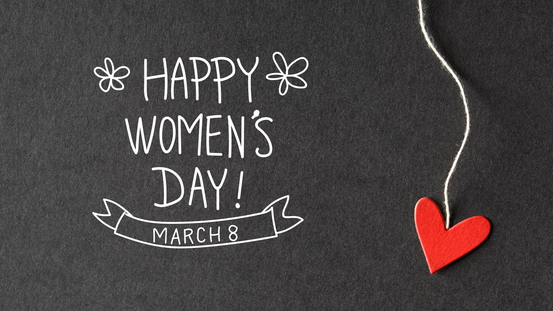 March 8 Women's Day Wallpaper HD 1920x1080
