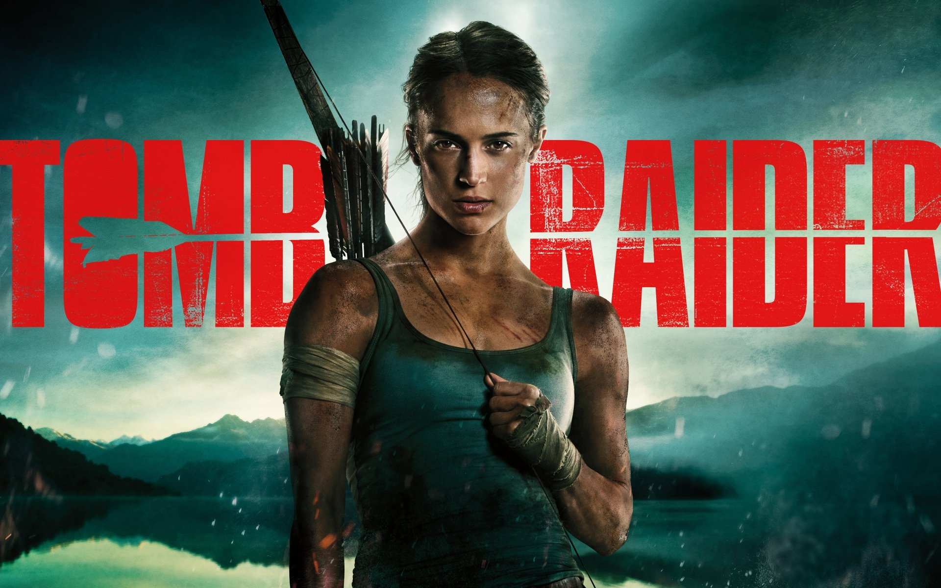 2018 Movie Posters: Tomb Raider 2018 Movie Poster Background