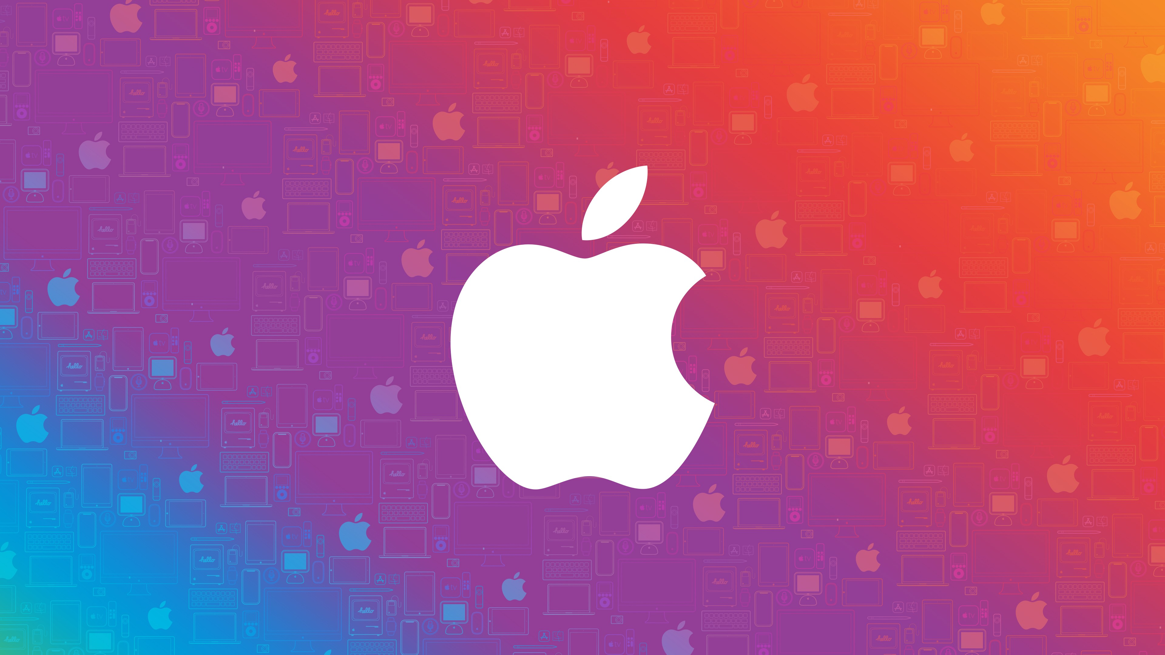 Apple Logo Wallpaper HD 4k 3840x2160