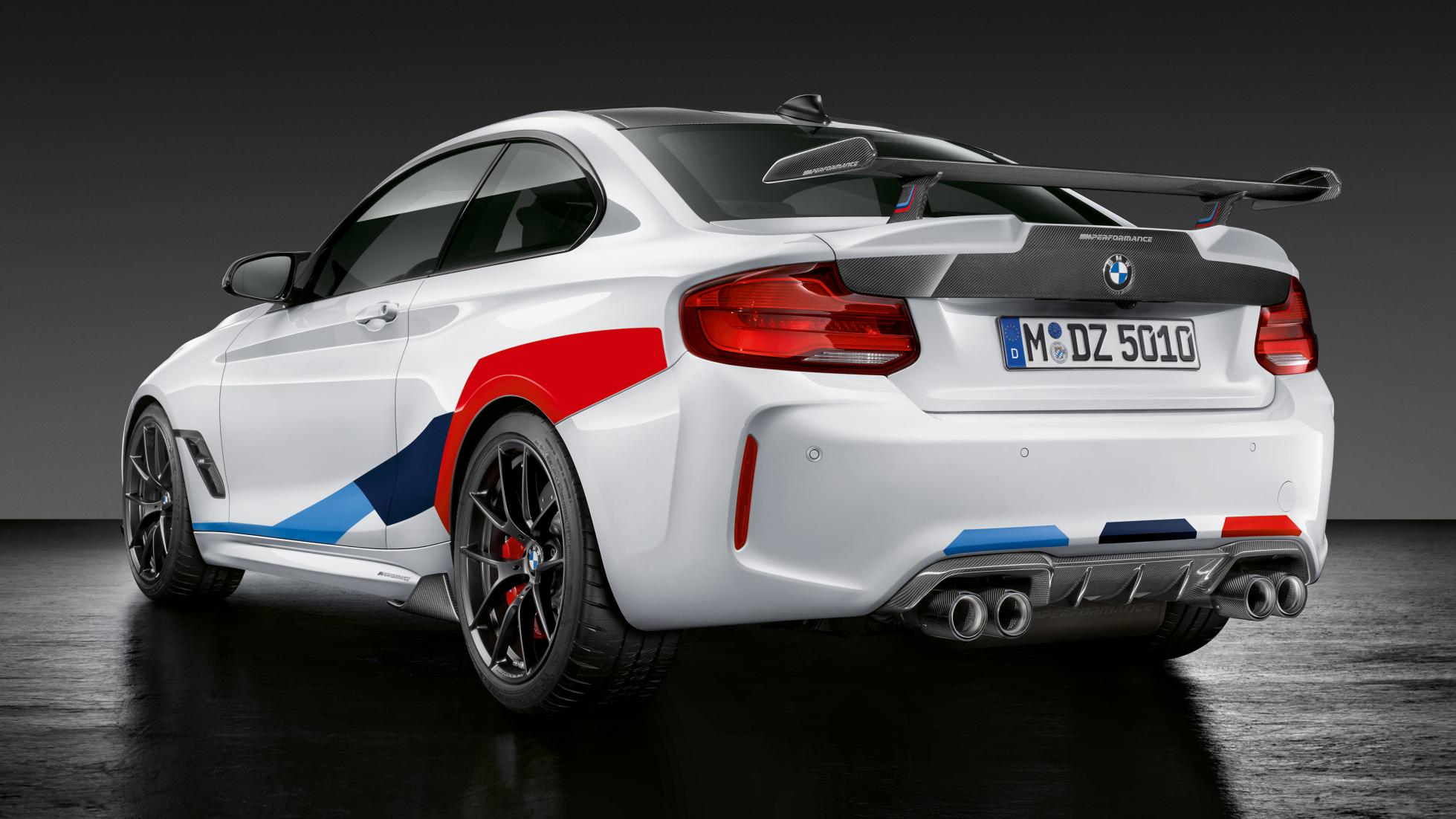 BMW M2 Competition Car back view photo wallpaper