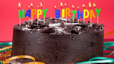 Happy Birthday Cake HD Wallpaper 1920x1200
