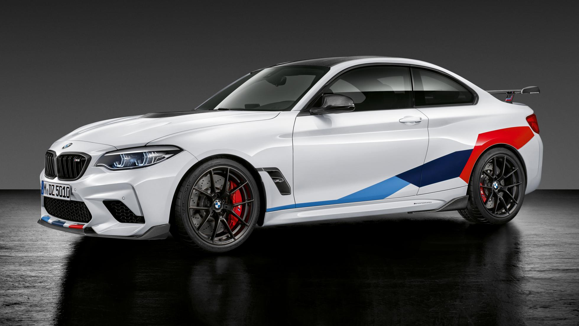 New BMW M2 Competition Car Sideview photo