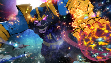 Thanos Comic Book Art Wallpaper 1920x1080