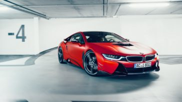 BMW I8 AC Schnitzer ACS8 Sport Wallpaper Background 3840x2160
