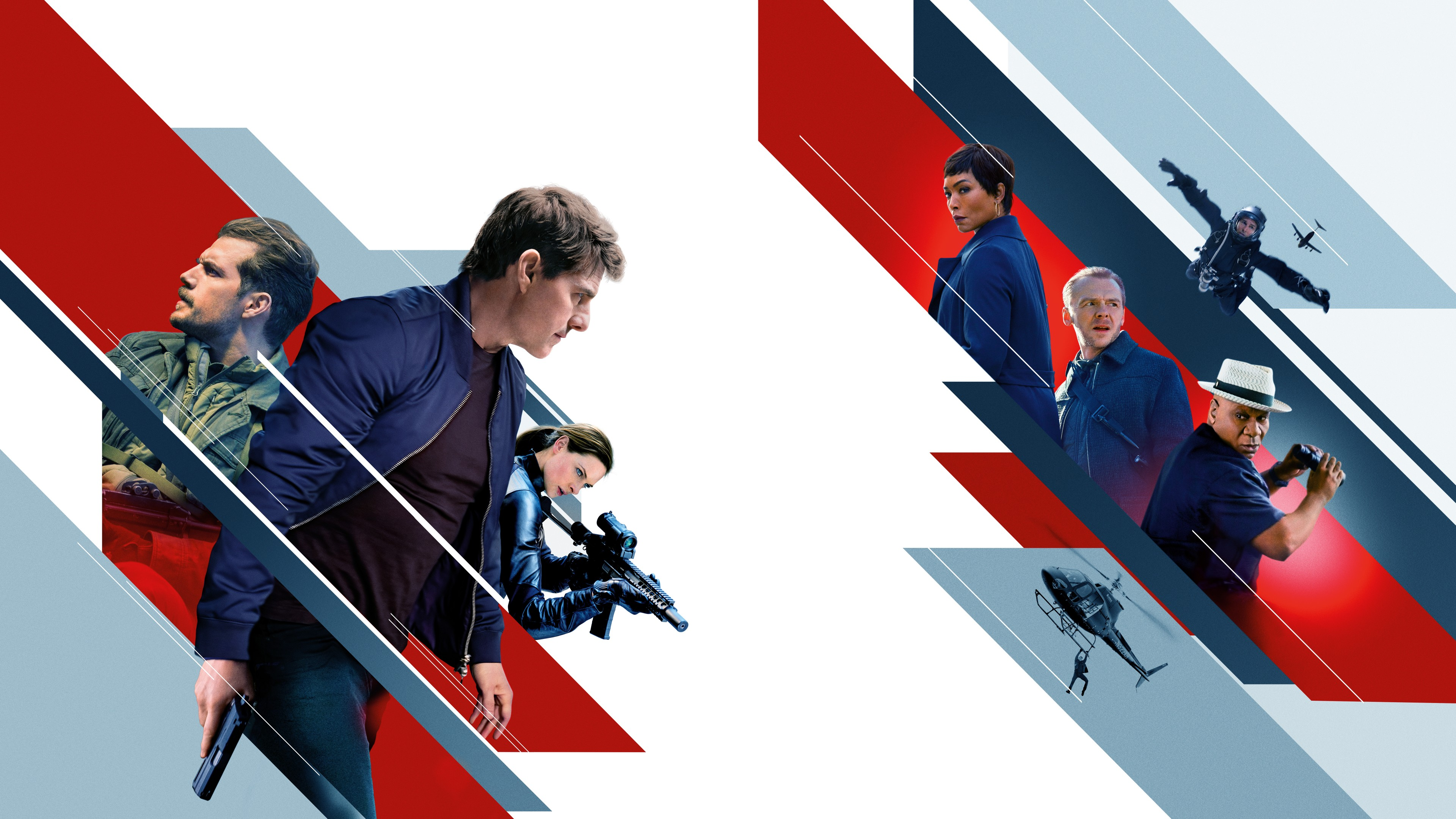 Mission Impossible Fallout 2018 Movie Poster Wallpaper 4K 3840x2160