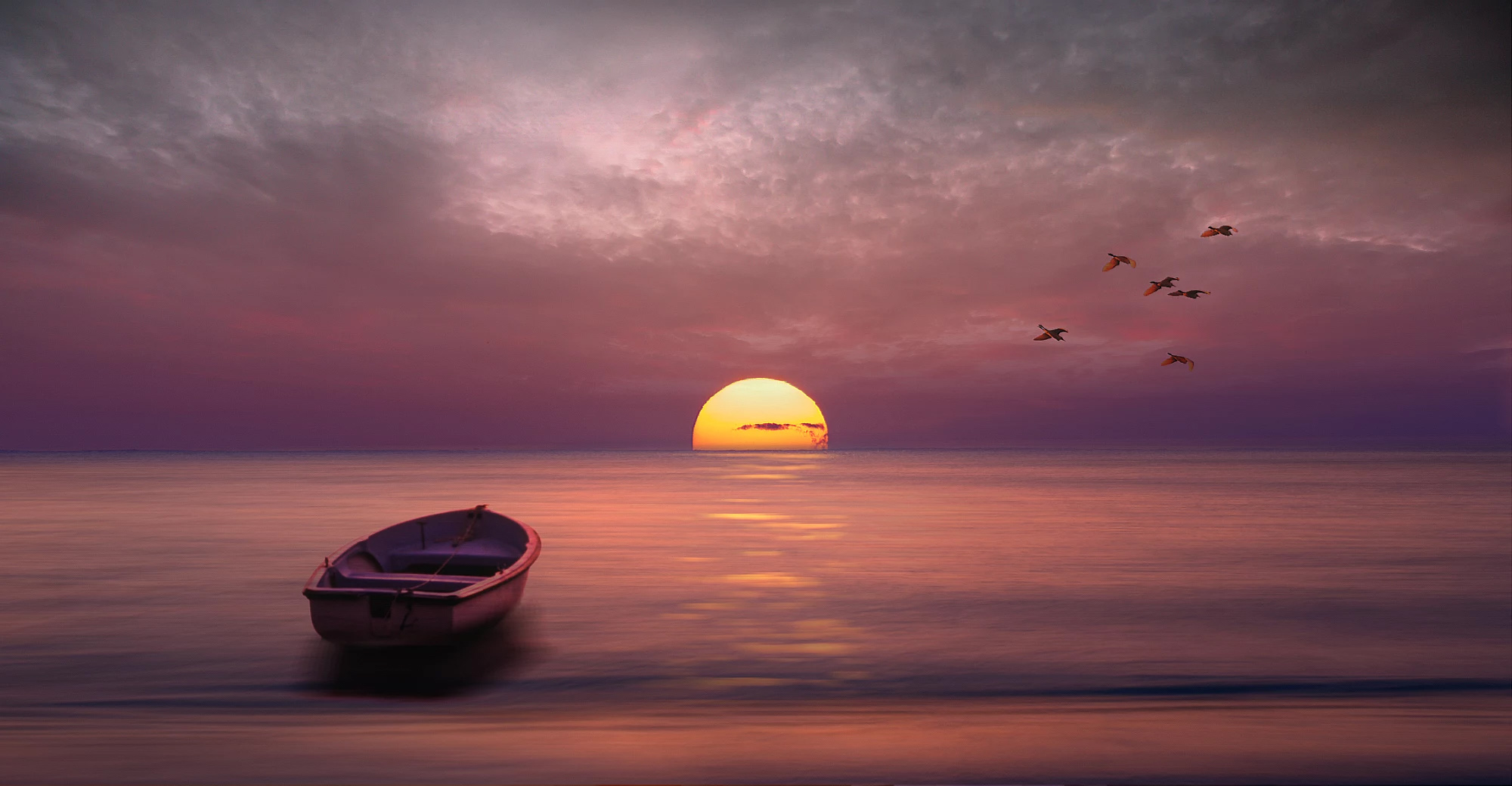 Seascape Sunset Photography By Nikos Bantouvakis