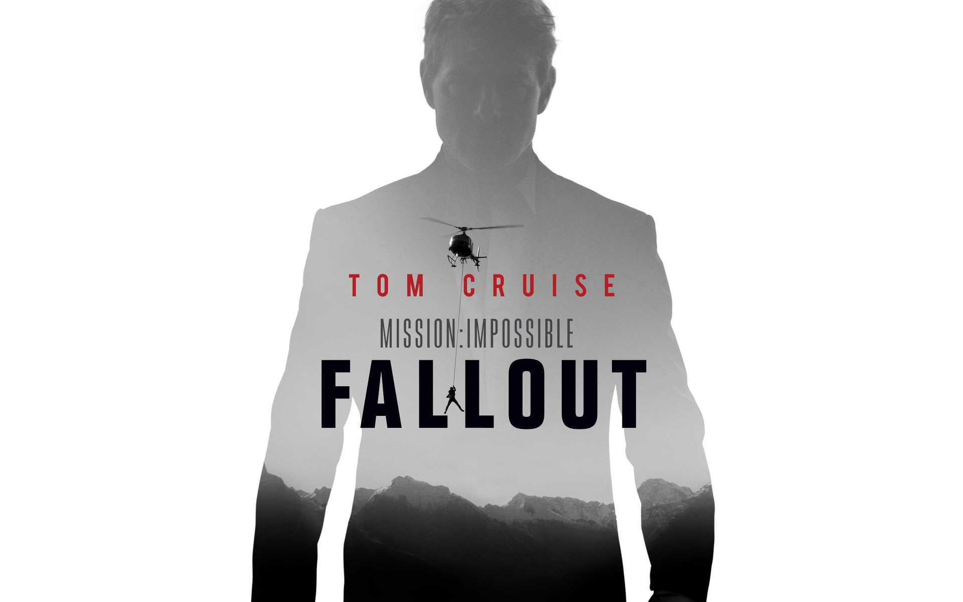 Tom Cruise Mission Impossible Fallout Poster 1920x1200