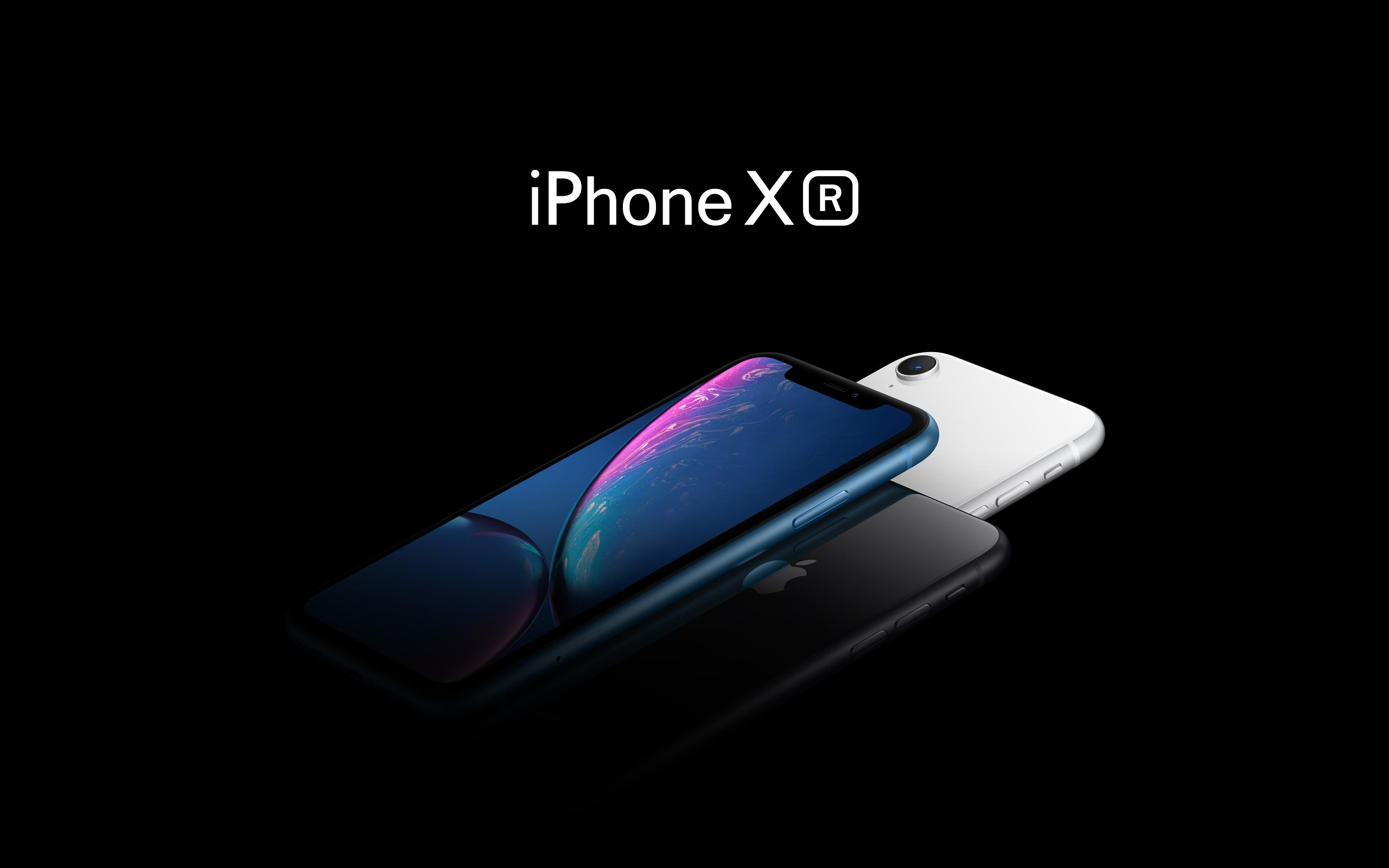 Apple 2018 iPhone XR Newest Smartphone Wallpaper Background 2560x1600