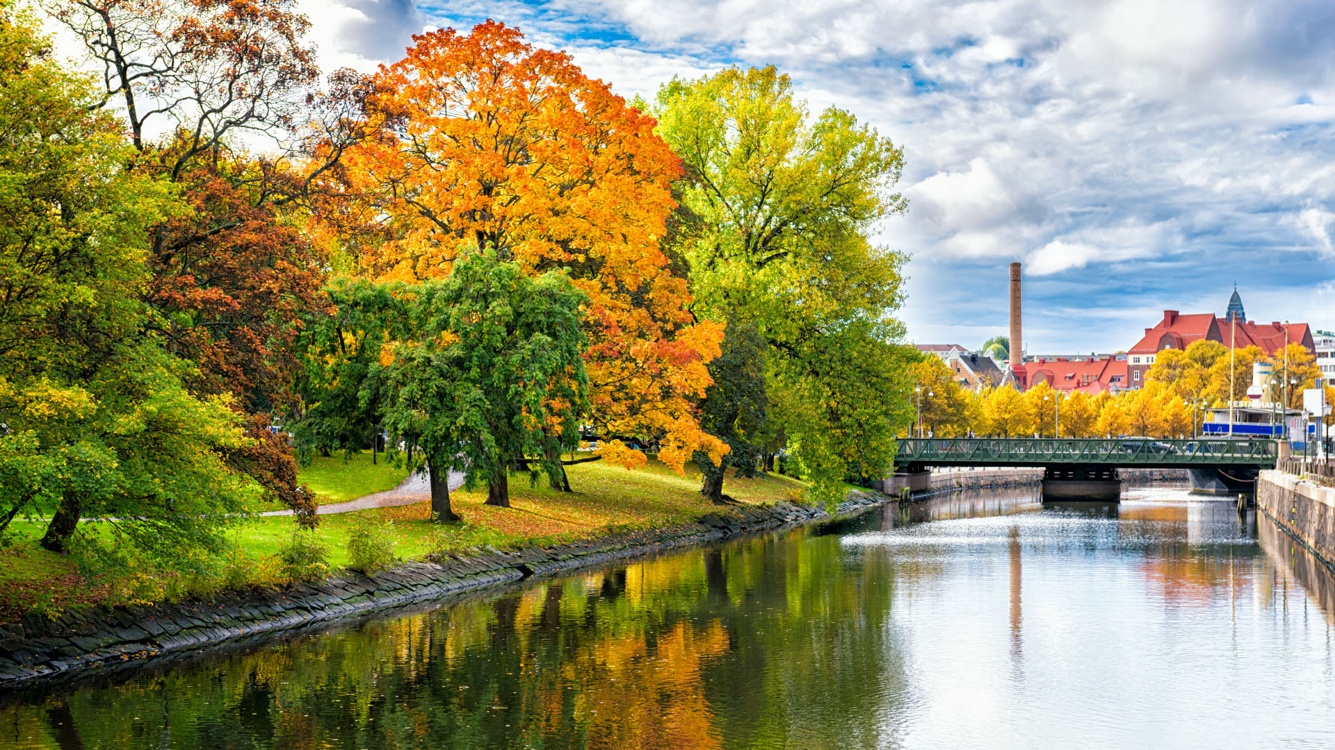 Autumn in Sweden Photography Wallpaper 20