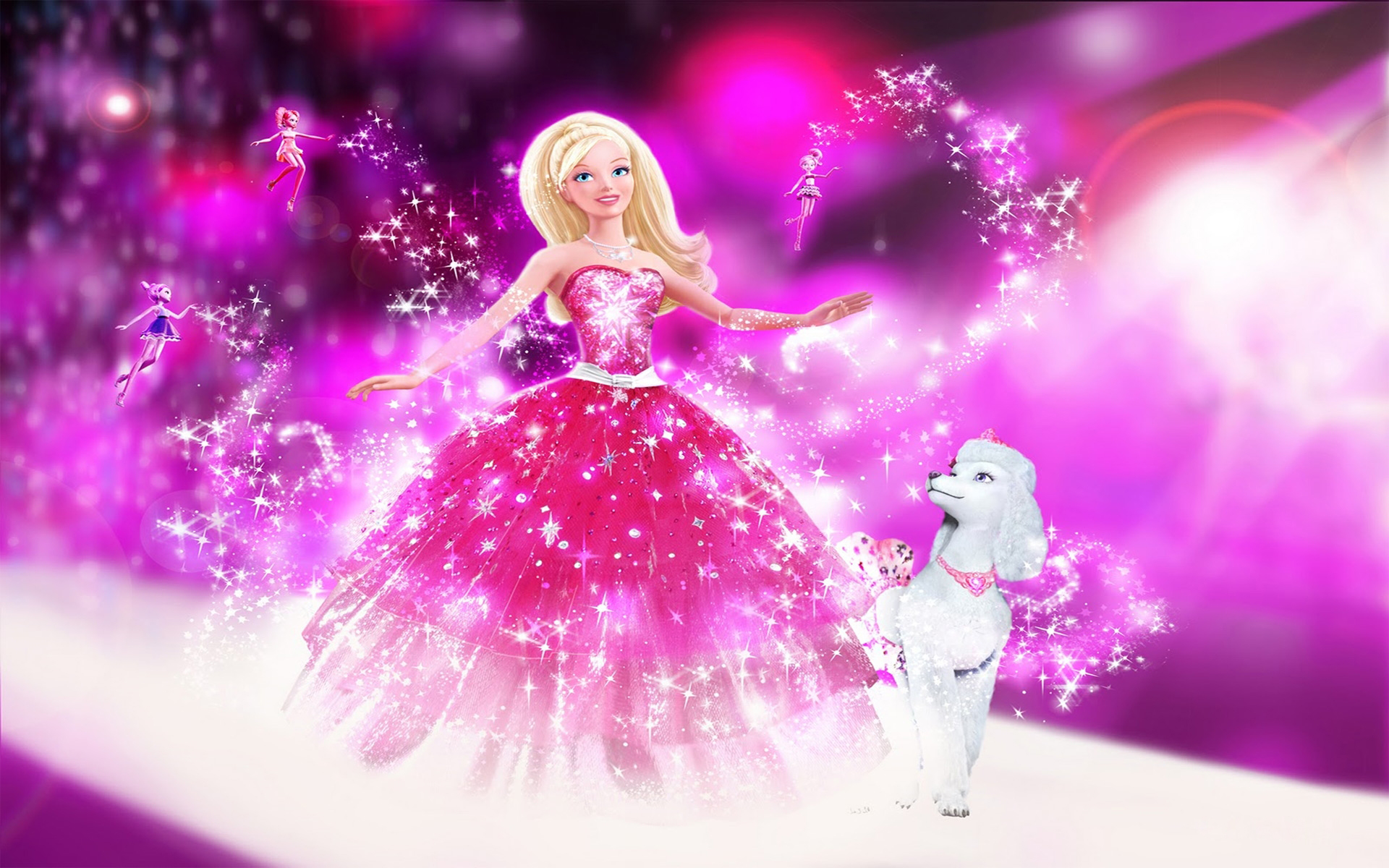 Barbie Doll Wallpaper Background 22