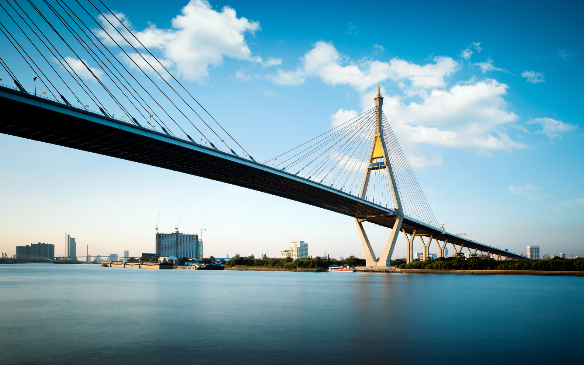 Bhumibol Bridge Bangkok Photos HD Wallpapers