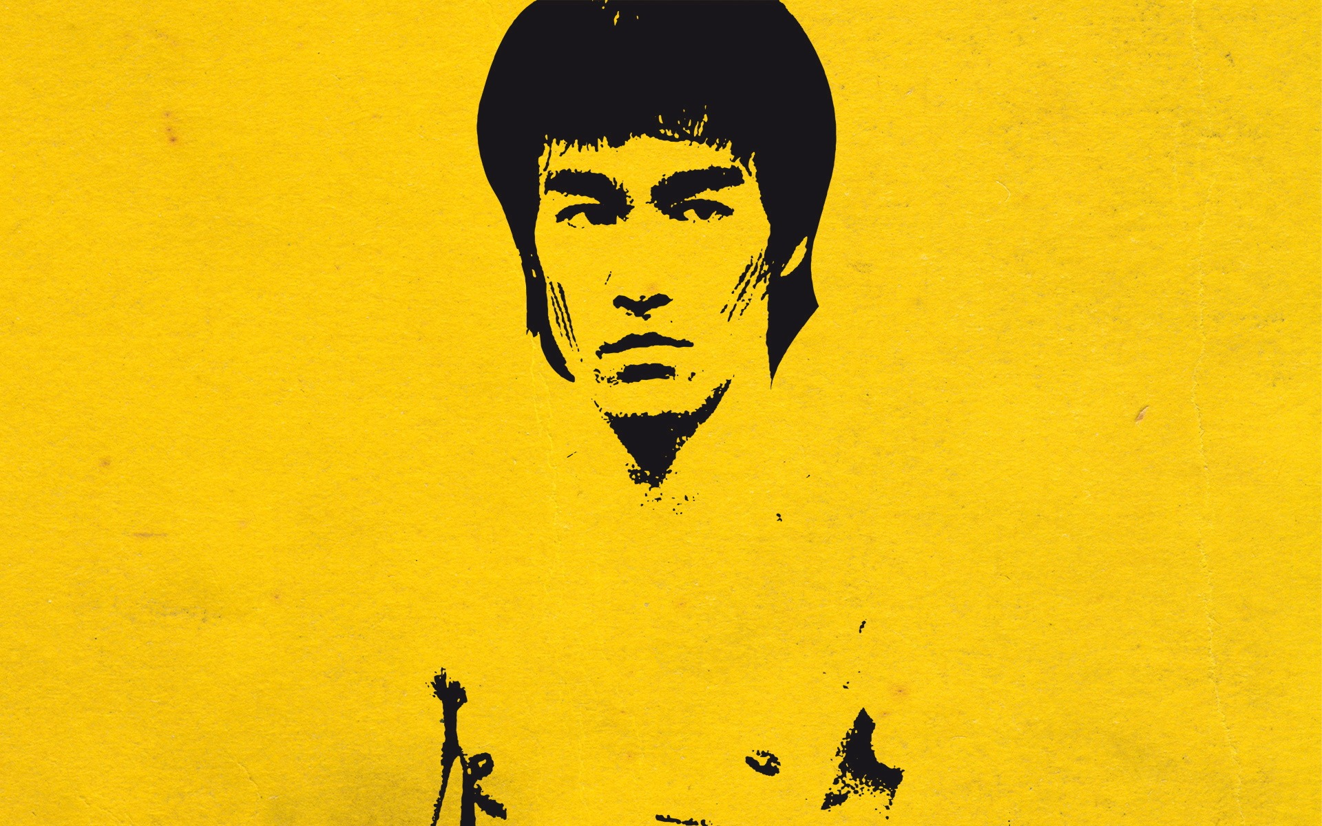 Bruce Lee-Chinese Kung Fu HD Desktop Wallpaper