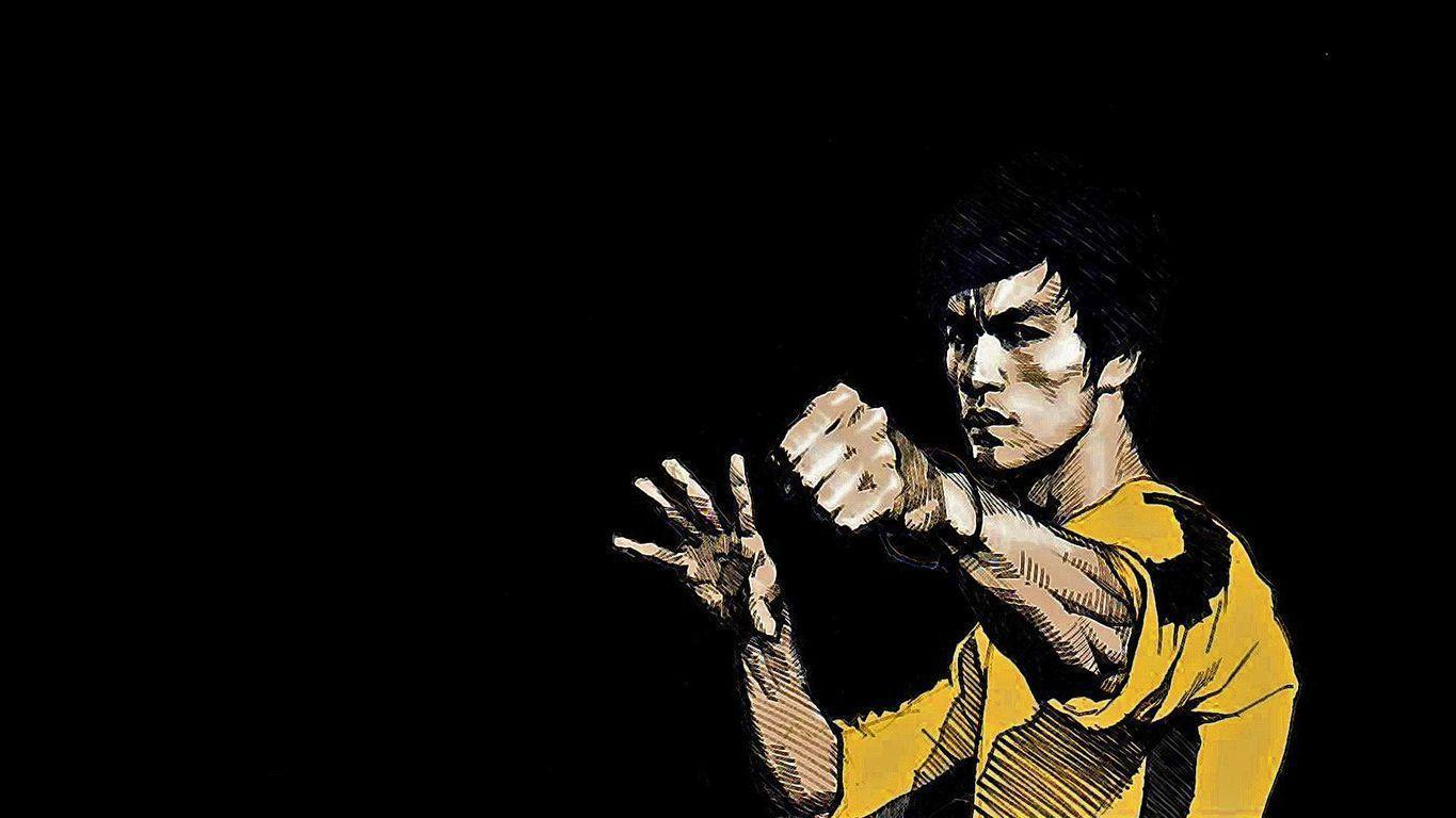 Bruce Lee Desktop Background
