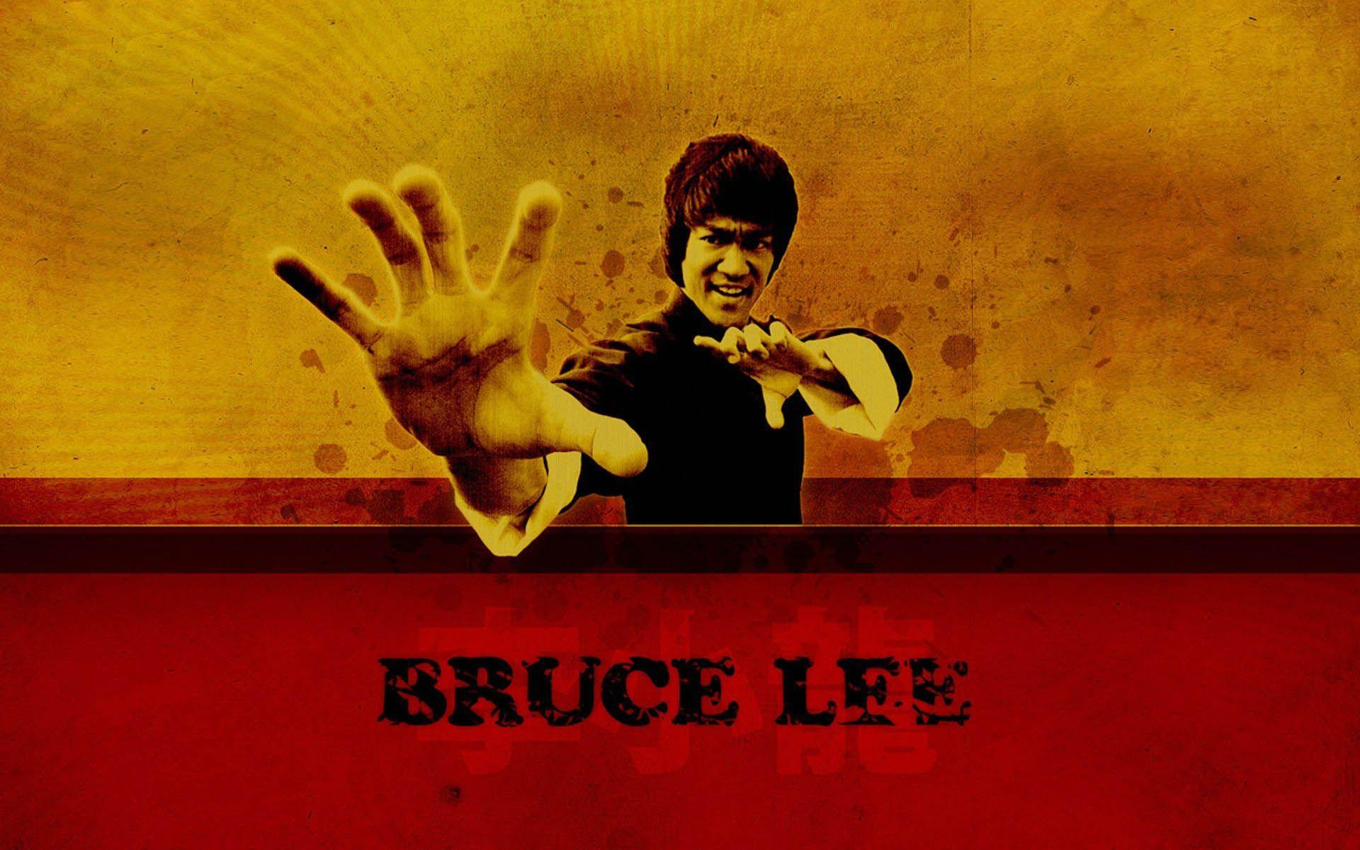Bruce Lee HD Desktop Background