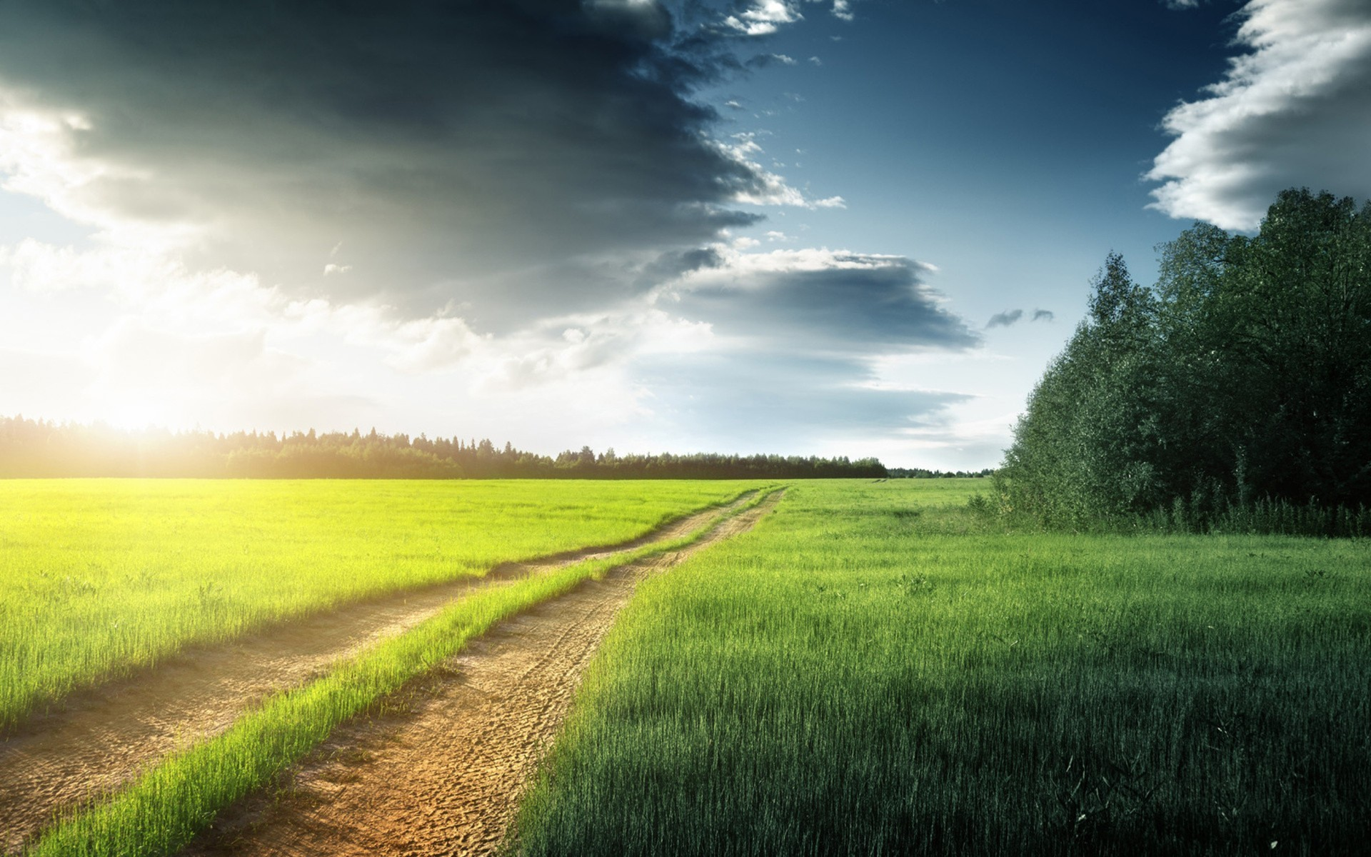 Beautiful Countryside Road Wallpapers 20
