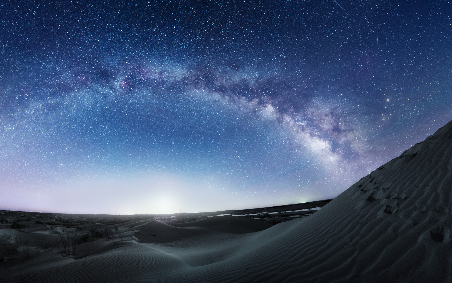 Milky Way Desert Photo Wallpaper 23