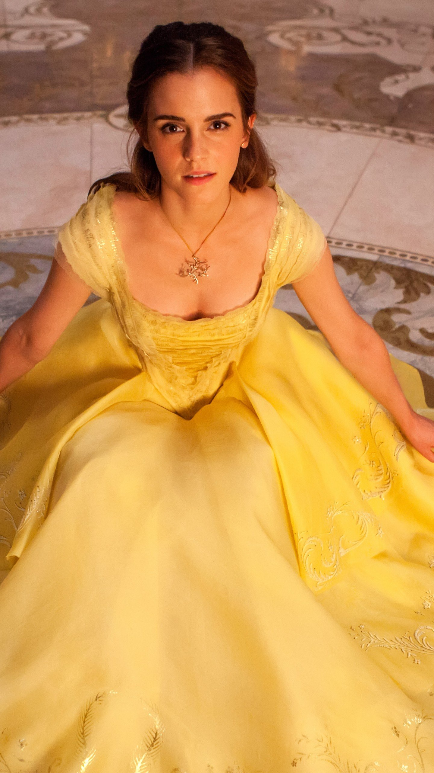 Emma Watson Belle Wallpaper HD
