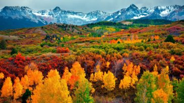 Fall Landscape Scenery Autumn Mountain HD Wallpapers