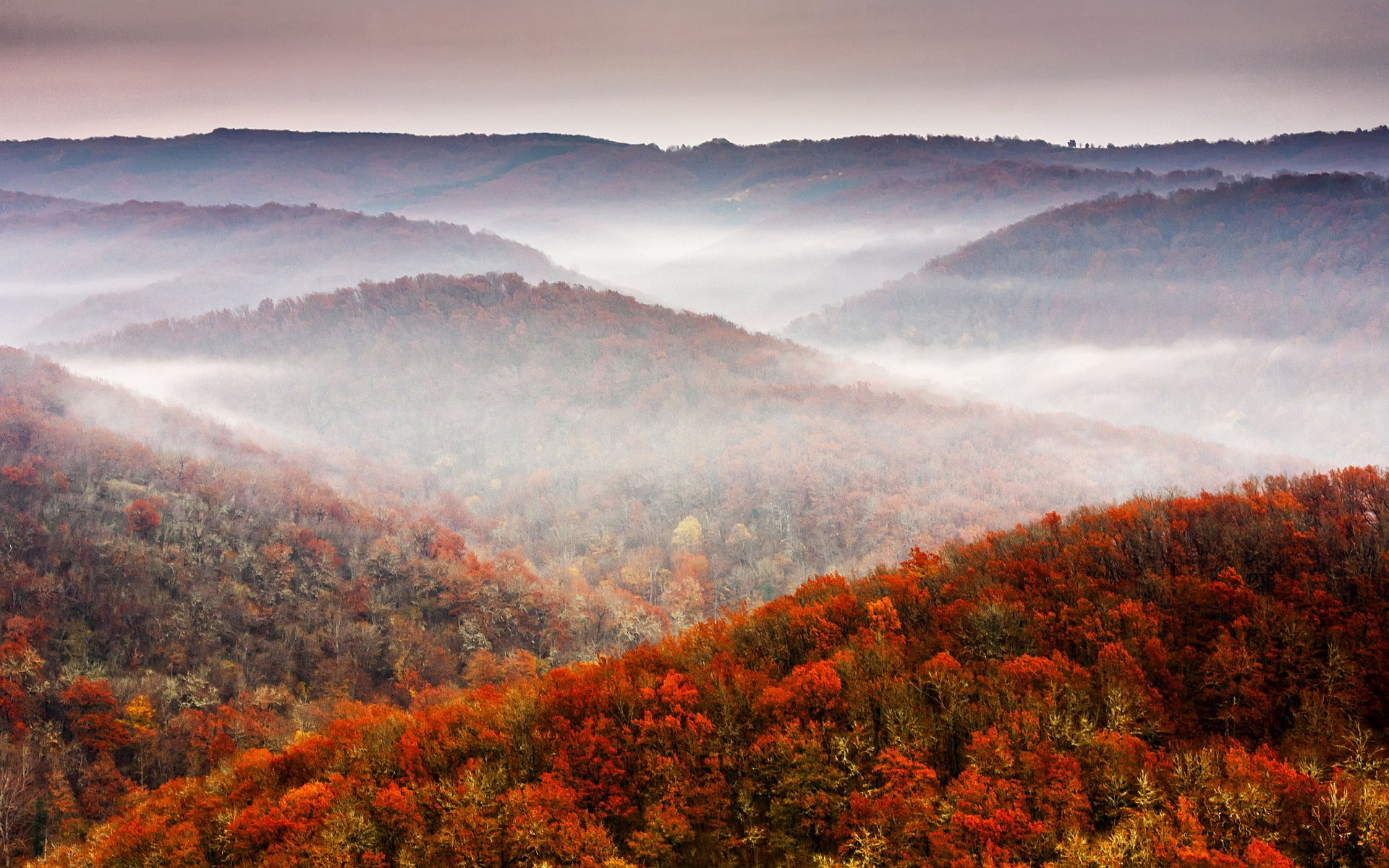 Fall Scenery Mountains HD Wallpapers 20