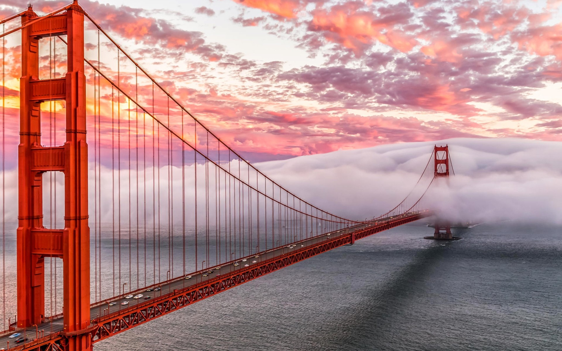 Golden Gate Bridge Background 1920x1200
