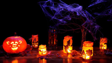 30 Stunning Halloween Lights HD Wallpapers