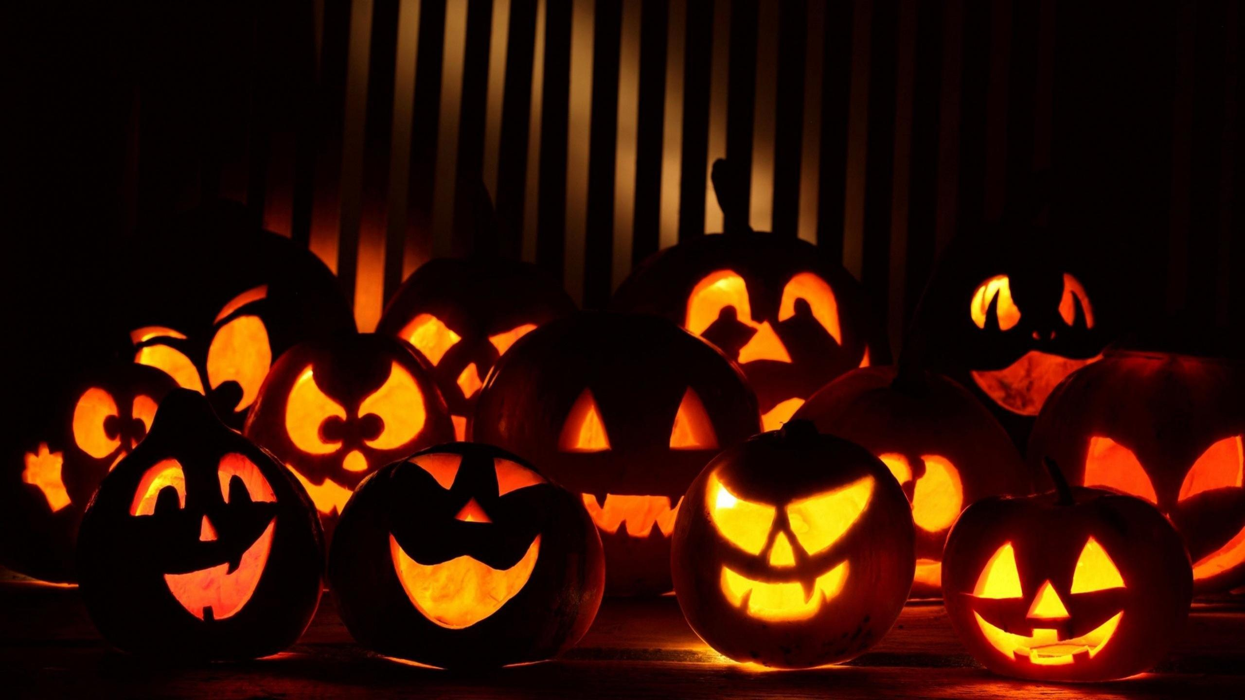40 Halloween Pumpkins Wallpapers HD for Desktop