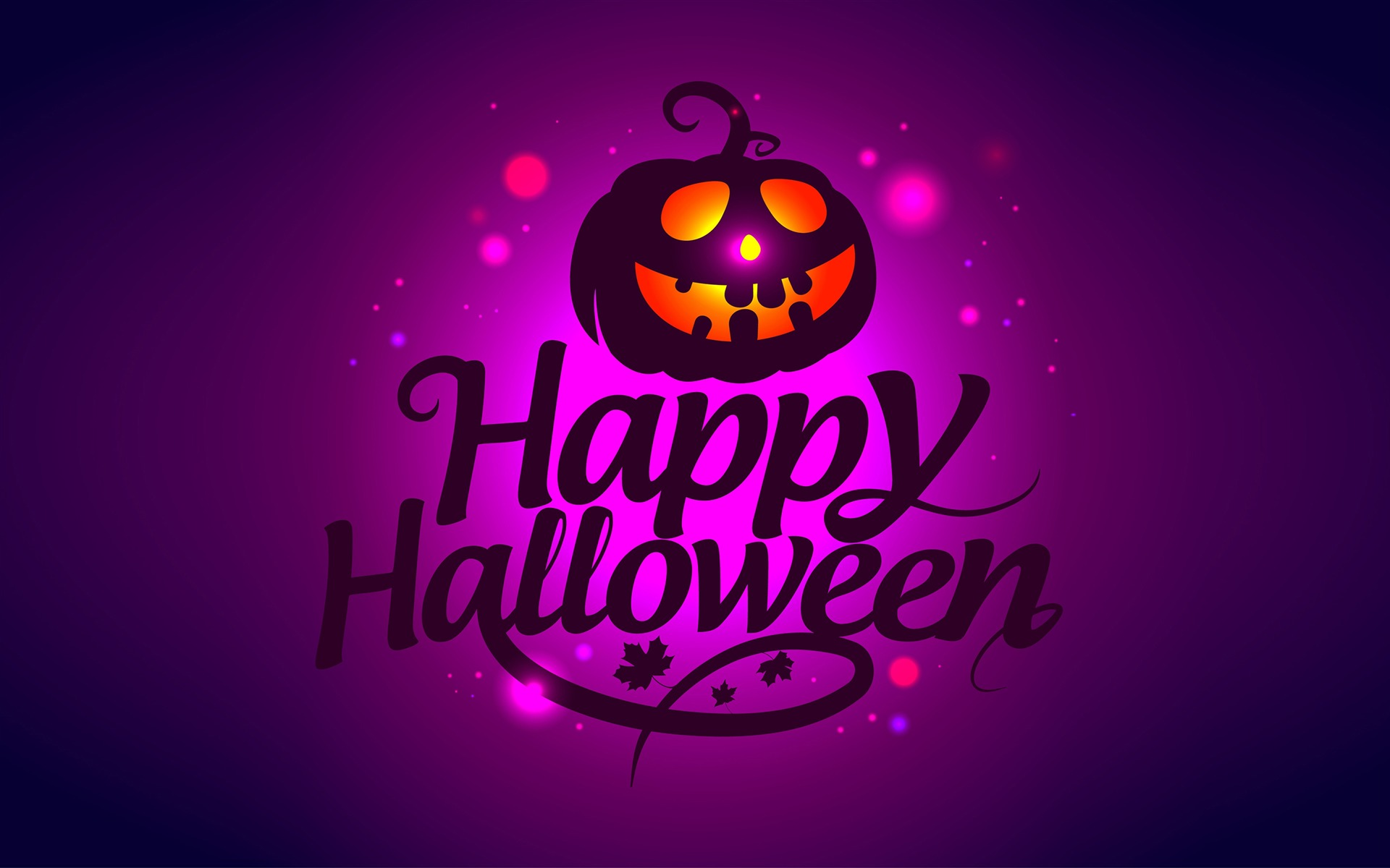 Happy Halloween Celebration Wallpaper 1920x1200