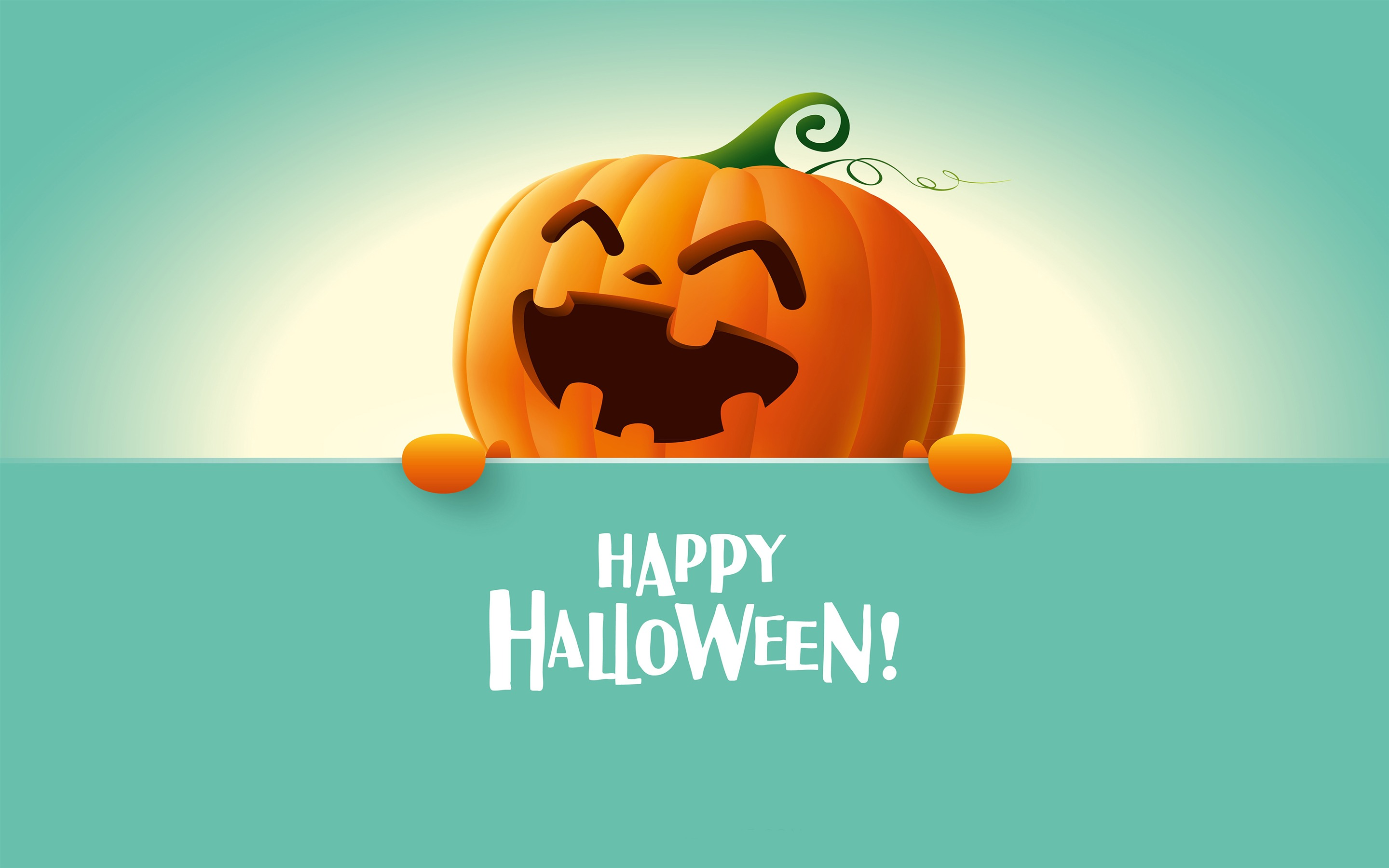 Happy Halloween HD Background Retina 2880x1800
