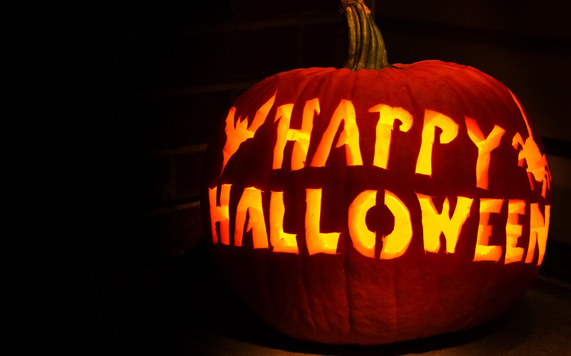 Happy Halloween Holiday HD Wallpaper 1920x1200