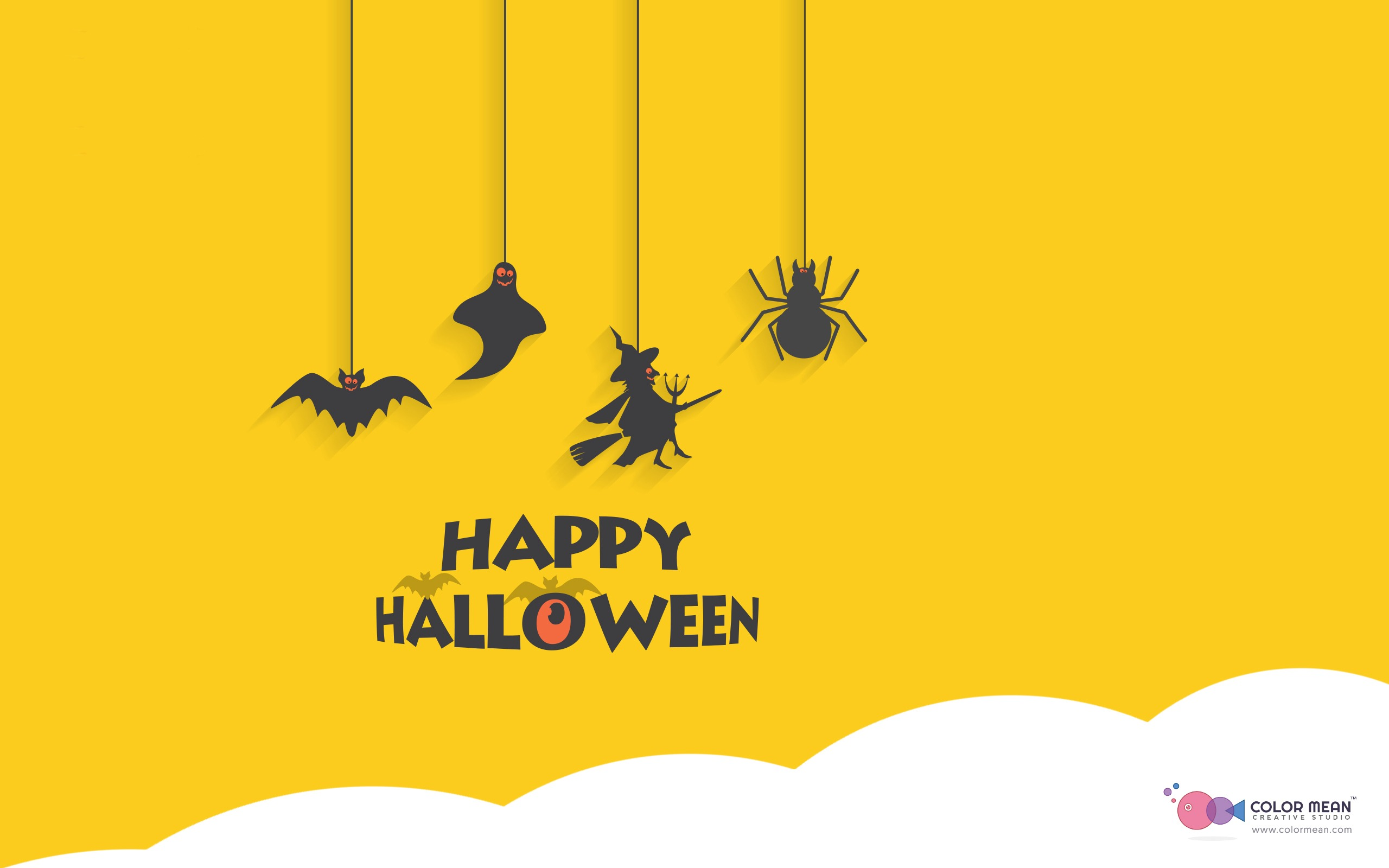 Happy Halloween Holiday HD Wallpaper 2560x1600