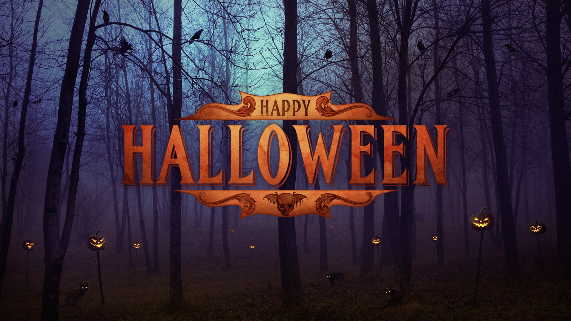 Happy Halloween Wallpaper 1920x1080