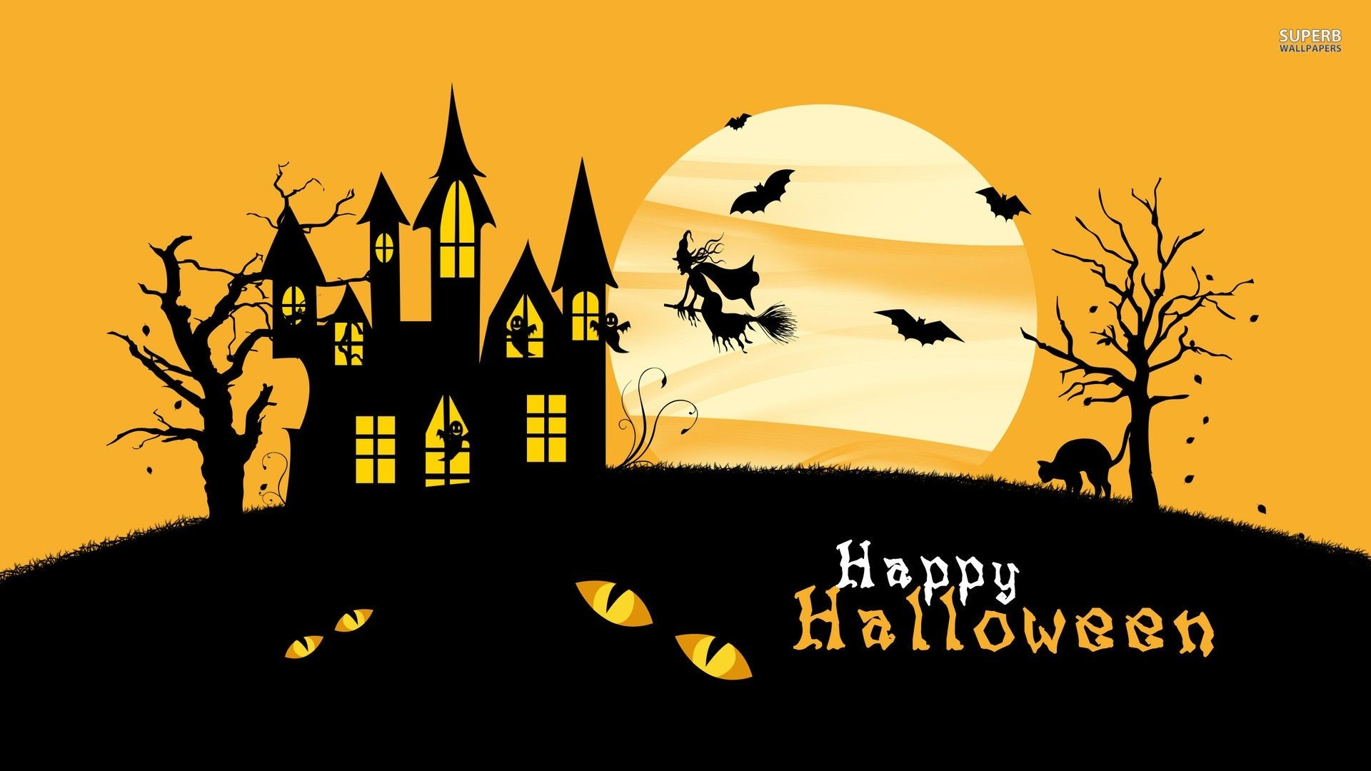 30 Happy Halloween Wallpapers