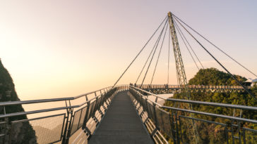 Langkawi Sky Bridge in Malaysia Photos HD Wallpapers