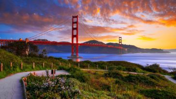 Beautiful San Francisco Golden Gate Bridge Wallpaper 1920x1200