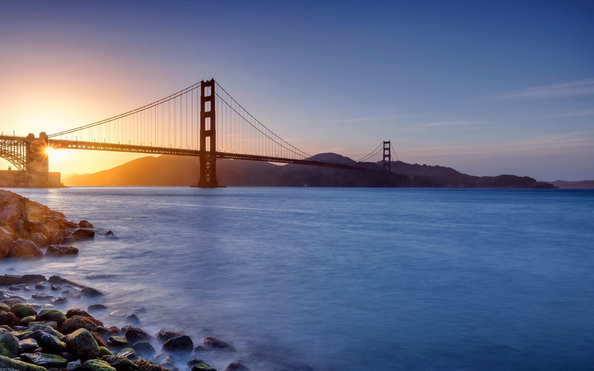 Sunset Golden Gate Bridge Photos HD Wallpapers