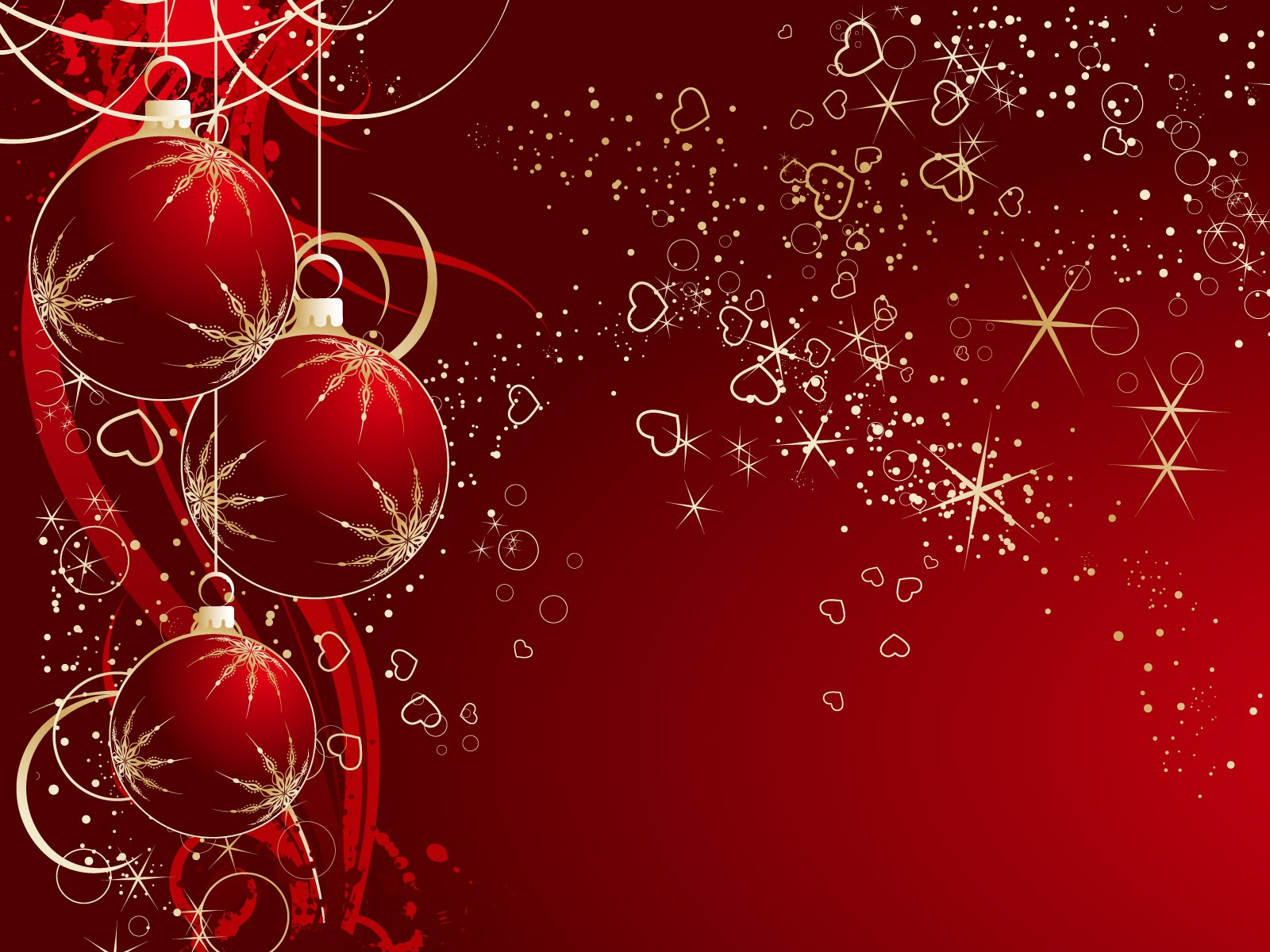 Xmas Ball Backgrounds-HD