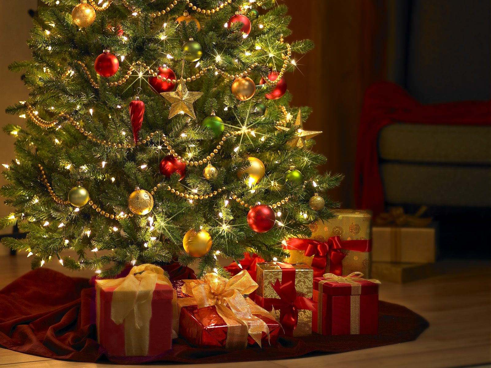 Xmas Tree Gifts Picture-HD