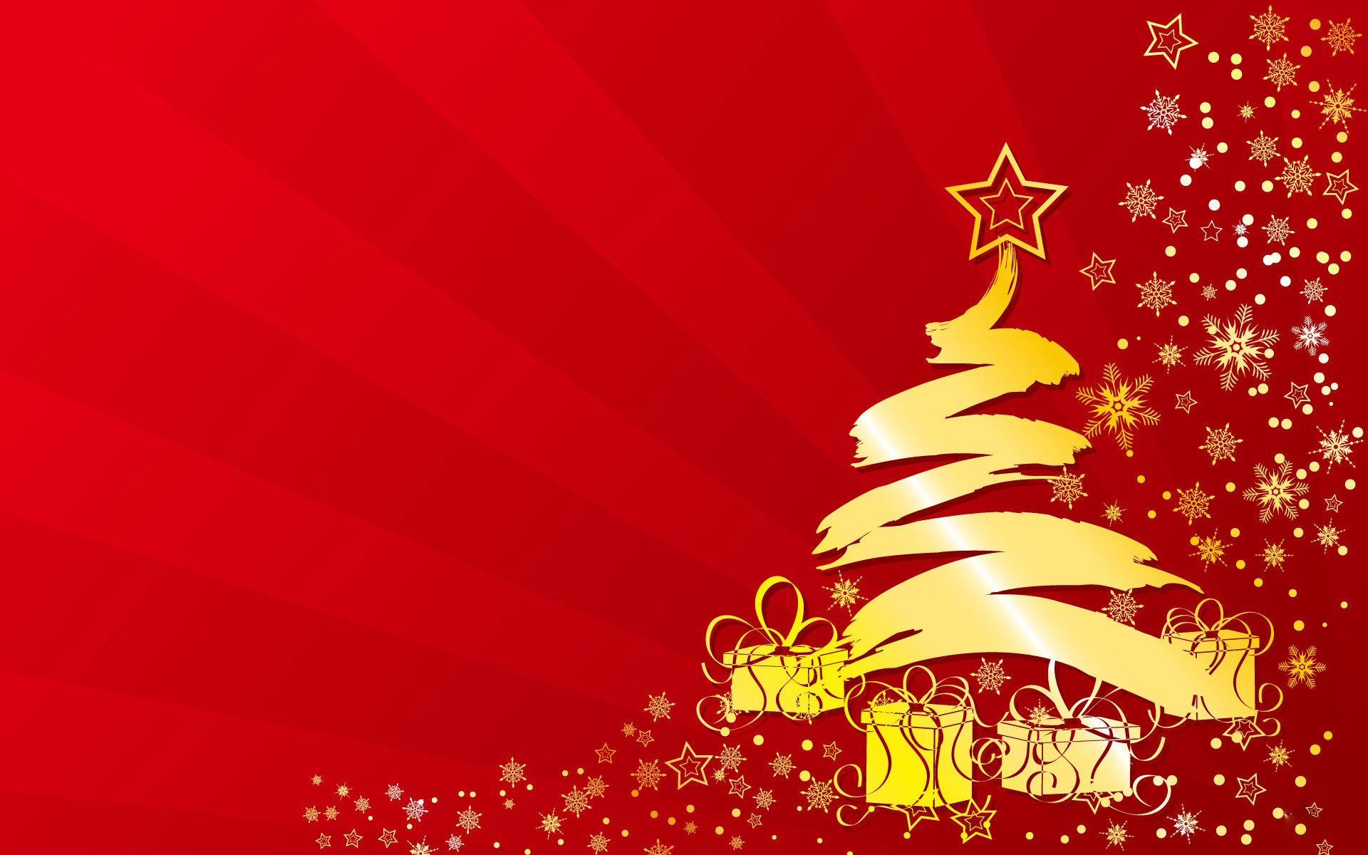 Xmas Tree HD Wallpaper