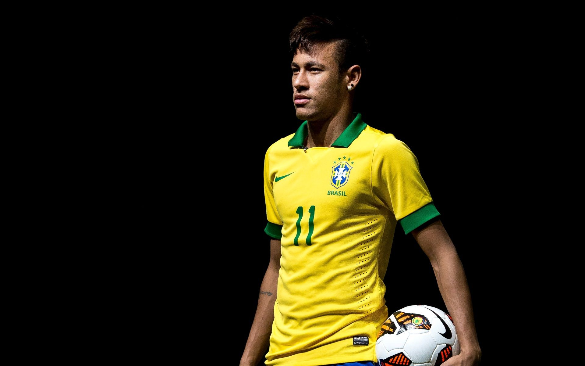 Brazilian Footballer Neymar hd wallpaper for desktop