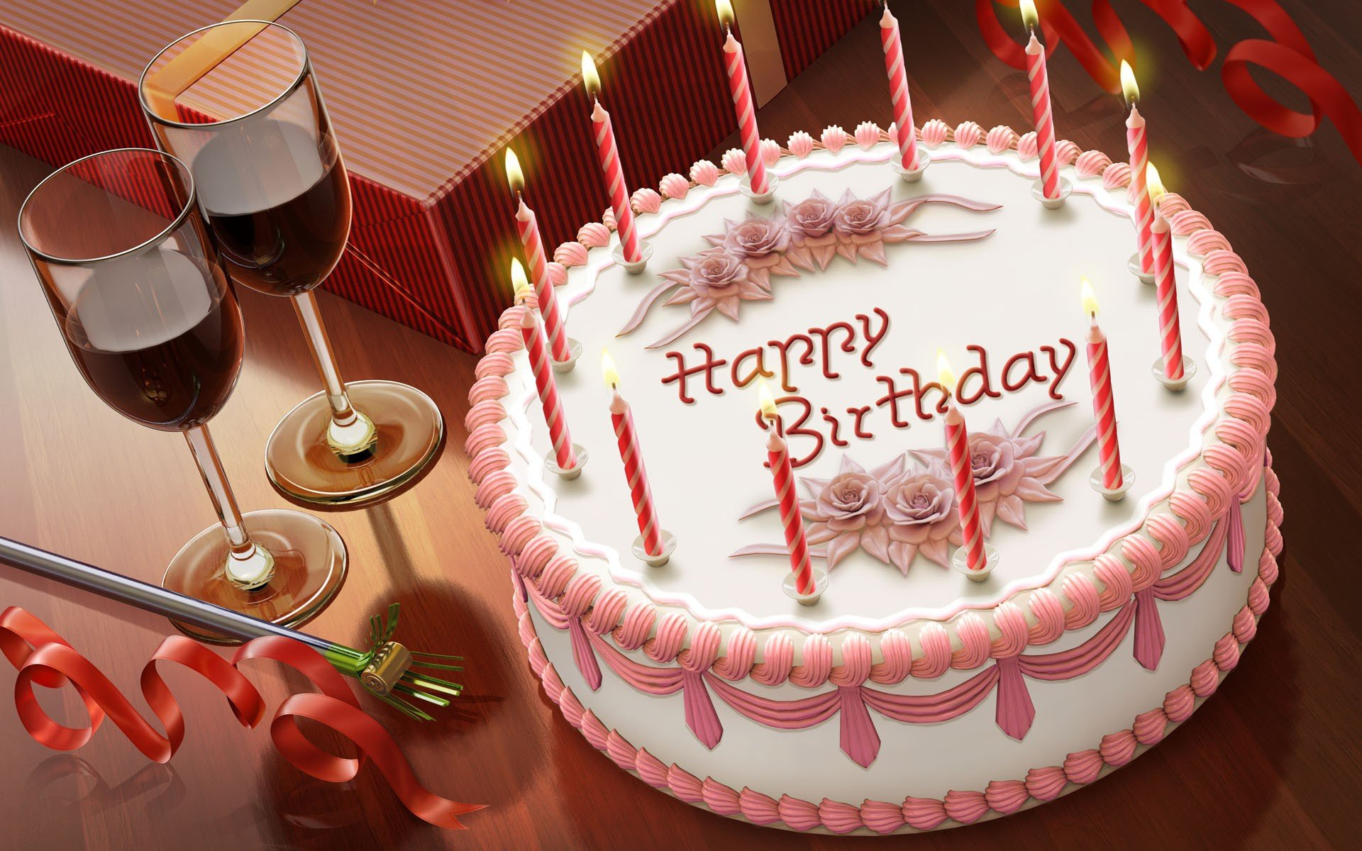 happy birthday cake image 1920x1200
