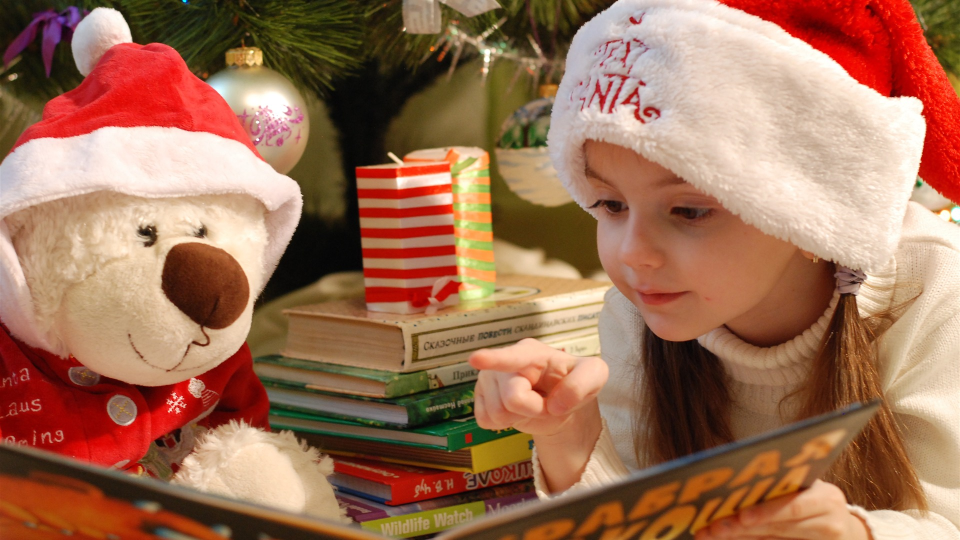 Christmas Day 2018 Story Telling Wallpaper 1920x1080