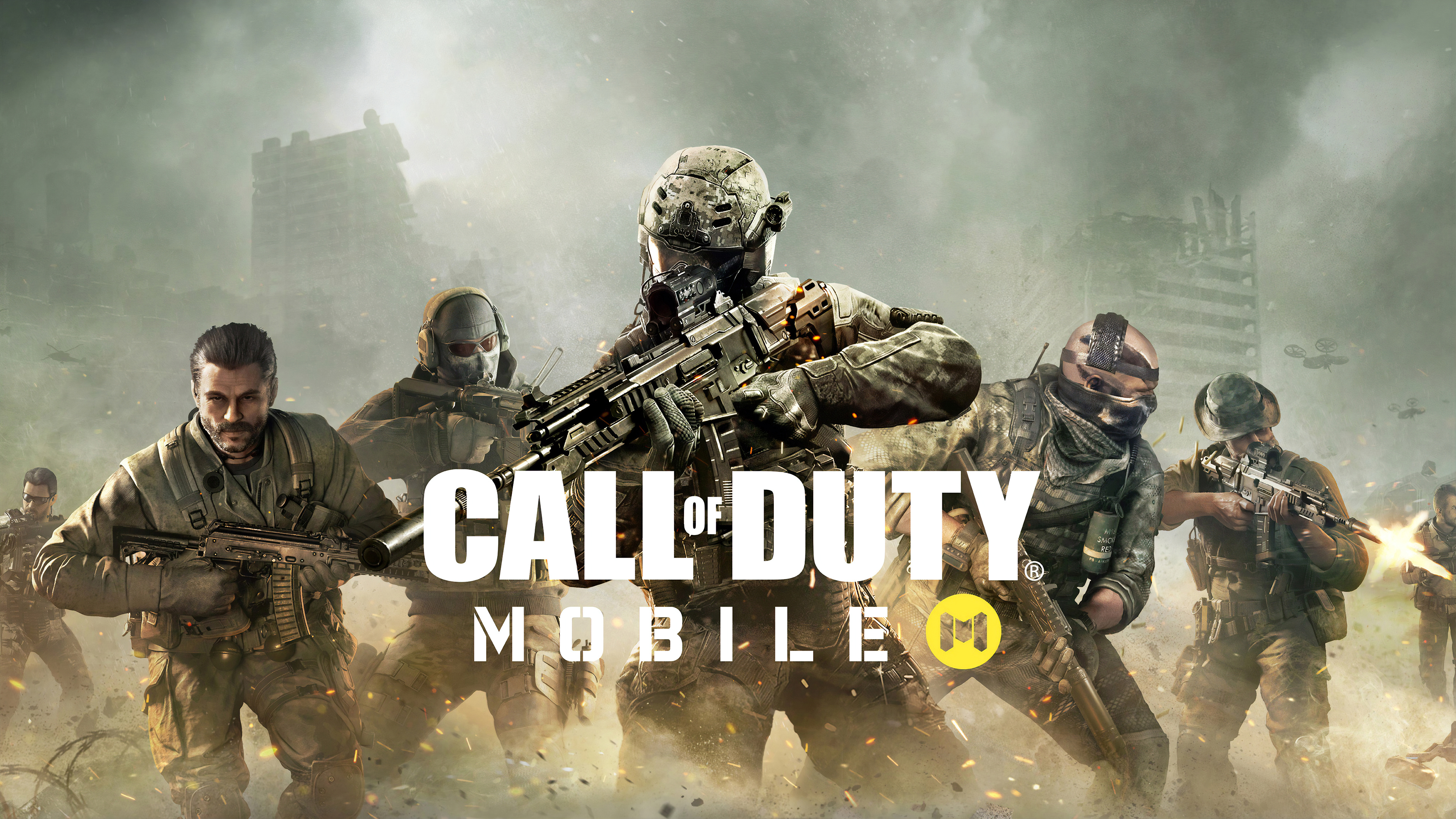 Call of Duty Mobile Game HD Wallpaper 4K for Desktop